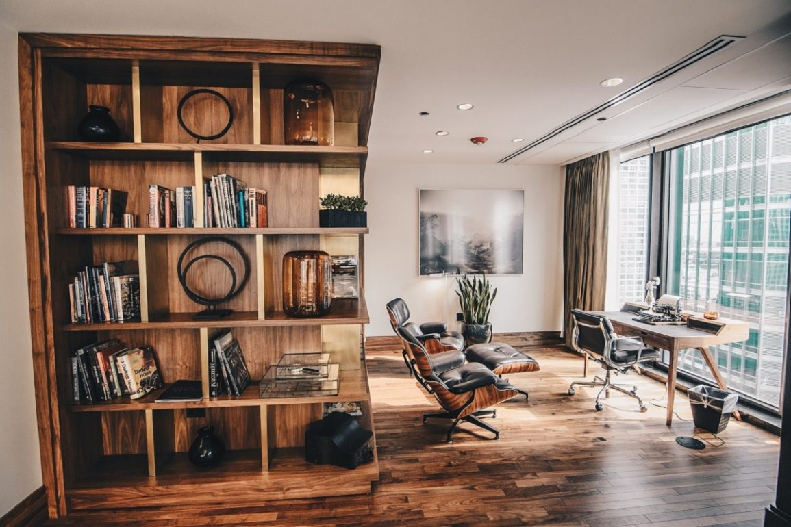 setting up your home office location