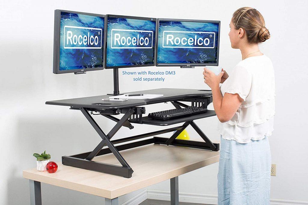 best ergonomic standing desk converter for home office