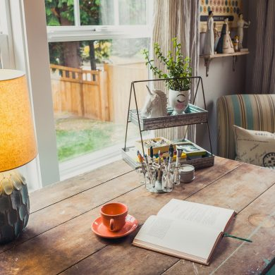 how to setup your home office lighting