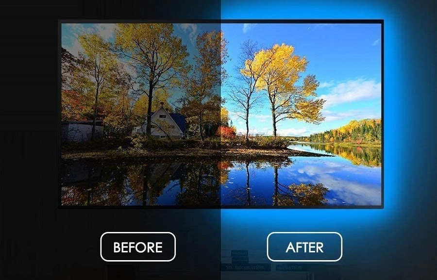16 Color Bias Lighting for Monitor